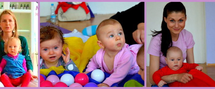 Tulínek-  Cvičení pro maminky s dětmi od 3 – 8 měsíců
