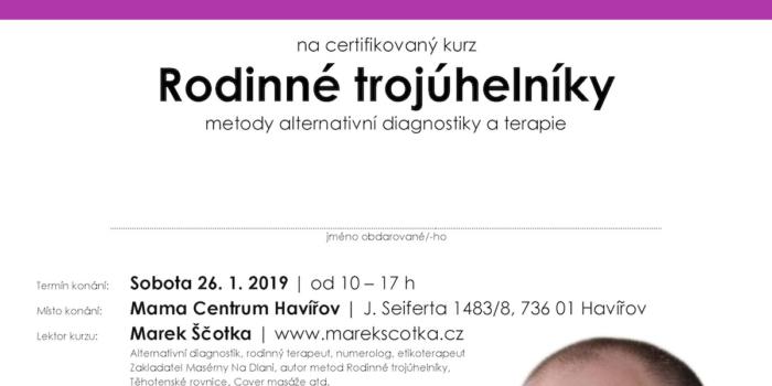 Certifikovaný kurz M.Ščotky – dárkový poukaz