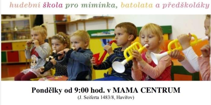Školička Malý muzikant opět začíná opět od září 2020